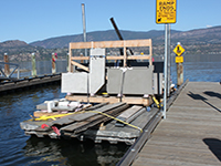 Okanagan Boat Lifts offers a variety of marine services, such as dock repair